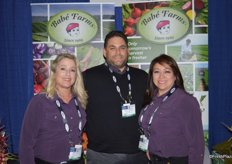 Ande Manos, Chris Cordero and Rocio Munoz with Babe Farms.