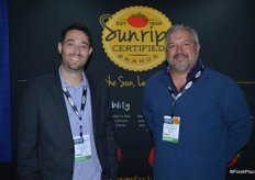 Lyle Bagley and Carlos Blanco with Sunripe Certified Brands.