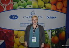 Jennifer Burgess with Capespan North America