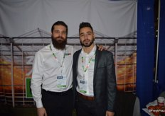 Mitch Amicone and Nick Hanna with Amco Produce.