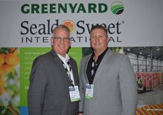 Henry Kreinces and GT Parris with Seald Sweet/Greenyard. GT just started with Seald Sweet a few weeks ago.