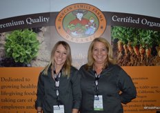 Courtney Boyer and Patty Emmert with Duncan Family Farms