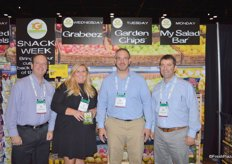 Rick Starko, Lisa Smith, Chad Hartman and Mike DeCramer with Truly Good Foods.