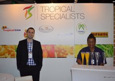 Luis Orrantia with Tropical Specialists.