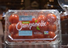 A new product from Double Diamond Farms: Campanelle, organic grape tomatoes.
