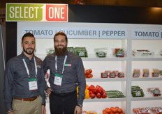 Nicolas Hanna and Mitch Amicone with Amco Produce.