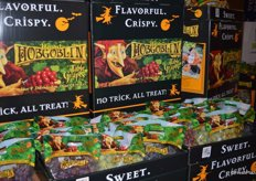Hobgoblin grapes from Sunlight International available in the weeks leading up to Halloween.