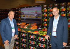 Alfie Oakes and Steve Veneziano with Oakes Farms