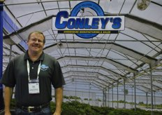 Dave Bishop, Conley's Greenhouse Manufacturing & Sales