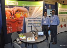 Ryan Talag and Mohsin Masud from Chantler Packaging