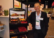 Jan van Heiningen, Emiment, showed some of the exciting peppers the company provides