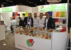 The team of Groupe Guillin all the way from Europe to promote their packaging