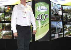 Richard Vollebregt, president of Cravo, celebrates the 40th anniversary of the company this year.