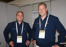 Werner Lategan and Jacques du Plessis of Farmtrace.