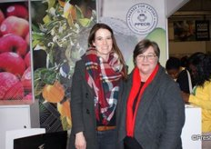 Tina-Louise Rabie and Lezette Taljaard of the PPECB.