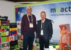 Niel Hugo and JB Steenkamp (general manager) of Mpact packaging.