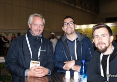 Worldharvest Produce represented by Stéphane Terrin, Cameron Mistal and Corey Goodlander.