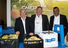 CHEP's Mike Potgieter, Ernest Higgs and Christopher Perumal.