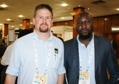 Arne Kaffka, technical manager, and Matome Ramokgopa, GM of Enza Zaden in South Africa