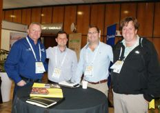 Willie Beets, GM South Africa of Seven Seas, Rowan Vickery of Capespan, Niel Malan of Seven Seas and Reinier Meyer of Favourite Fresh Exports.