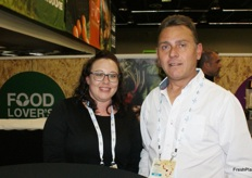 Monique Jansen van Vuuren and Deon Vermaak of Dewcrisp.