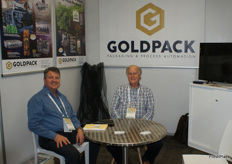 Tony Robinson and Trevor Reardon of Goldpack Automation.