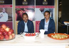 Anza Madi and Lindiwe Selepe of the Johannesburg Market.