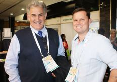 Deon Joubert from the CGA with Rowan Vickery of Capespan.