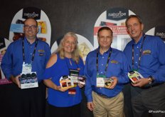 Brian Jenny, Jill Overdorf, Larry Ensfield and Dwight Ferguson with Naturipe Farms