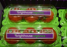 Organic greenhouse tomatoes of NatureSweet's new organic line