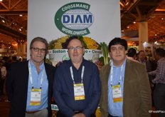 Jeff Bruff with Rock Garden, Daniel Coosemans and Manny Lepe with Coosemans Worldwide.