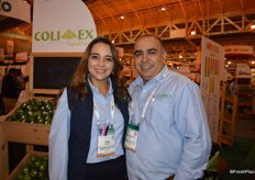 Erika Anguiano and Antonio Gudino with Colimex.