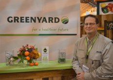 Steve Marinello with Greenyard Logistics USA. The company just opened a new distribution center in New Jersey.