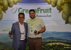 Tony Bucio and Kevin Vines with GreenFruit Avocados