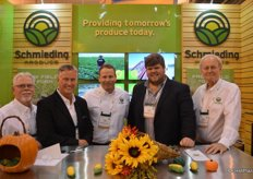 The team of Schmieding Produce: Larry Chapman, Scott McDulin, Chris Erneston, Trent Woerner and Kyle Underwood. Just last week, Trent became the company's new President.