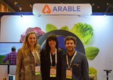 Jess Bolinger, Andrea McNees and Ian Bailey representing Arable