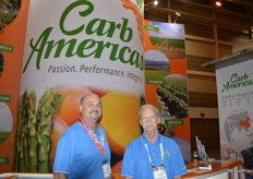 Jeff Friedman and Darrell Genthner with CarbAmericas