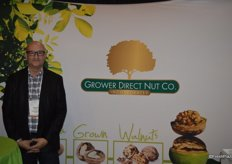 Michael Manser with Grower Direct Nut Co.