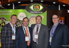 The team of Vision Import Group: Raul Millan, George Uribe, Allan Napolitano and Ronnie Cohen.