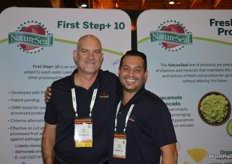 Tim Ossun and Eric Fernandes with NatureSeal