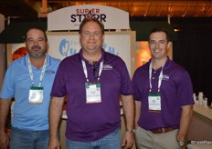 Mauricio Tamayo, Lance Peterson and Chris Hoffman with Super Starr International.