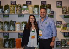 Lauren Tomasello and Ernst van Eeghen with Church Brothers, now also offering vegetable meal kit solutions.