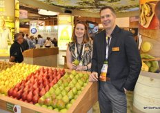 Lynsey Kennedy and Jeff Correa from USA Pears