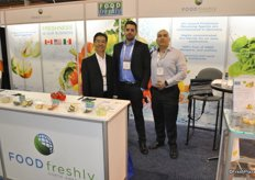 Gordon Nobuto, Benjamin Singh and Roberto A. Flores Rodríguez from Food Freshly