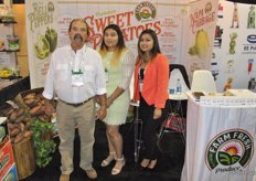Bobby Daughtry, Diana Ramirez and Lorena Otero from Farm Fresh Produce