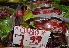 Cherries from Chile.