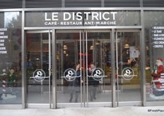 The final stop of the day was Le District, an inspiring concept that seems to be very popular. Le District is a gourmet food market that also features a grand restaurant with a chef counter in the back.