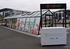 The MyFood connected greenhouse
