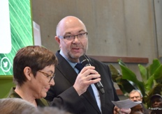 Stéphane Travert, Minister of Agriculture and Food speeched as well