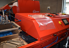 Packaging machine offered by Sorter.